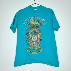 House of Blues New Orleans Voodoo Golf Graphic Tee